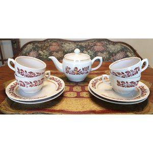 RARE Soviet Russia USSR Bagdonovichesky Tea Set